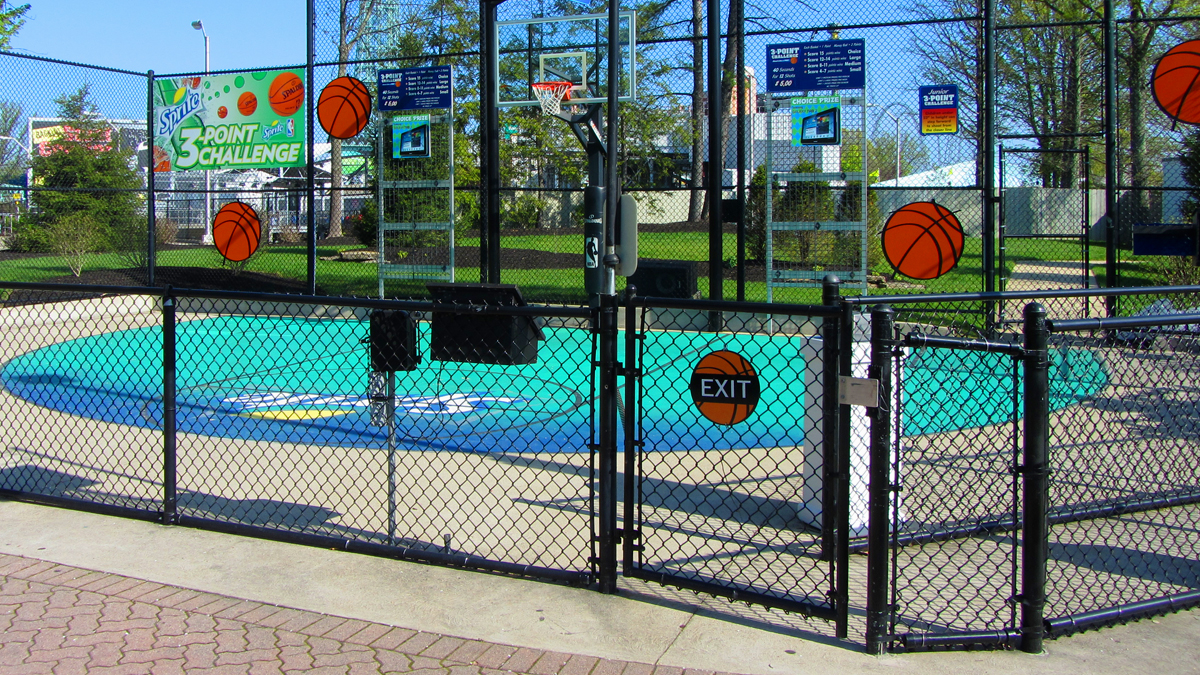 Keep recreation time safe with a chain link fence from Ashlee Fence.